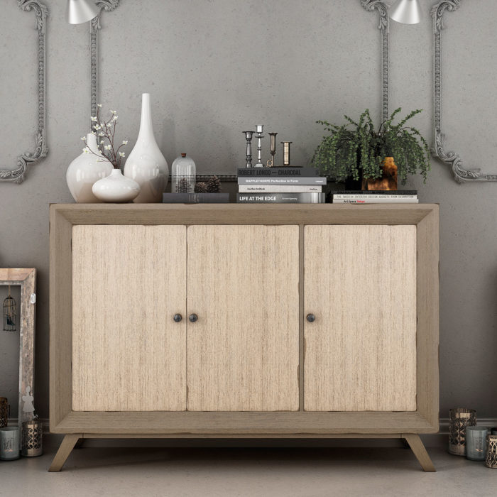 mueble auxiliar consola madera