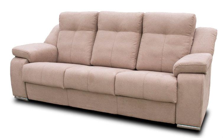 sofá piel tres plazas muebles thermobel Segovia