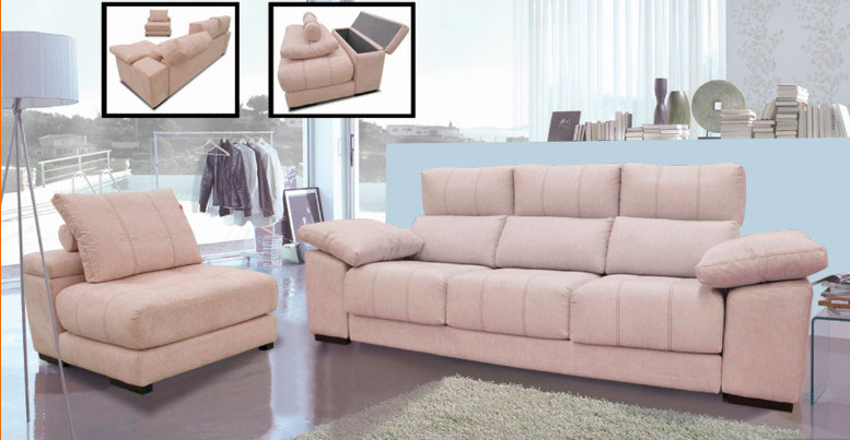sofá butaca alamacenaje muebles Thermobel Segovia