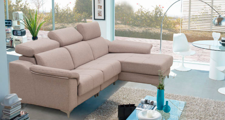 sofá chaise longue cabeza reclinable muebles thermobel Segovia