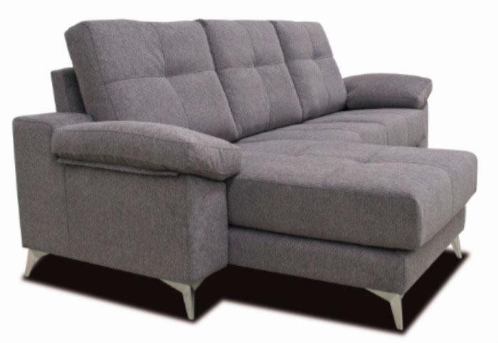 sofá tela chaise longue muebles thermobel Segovia