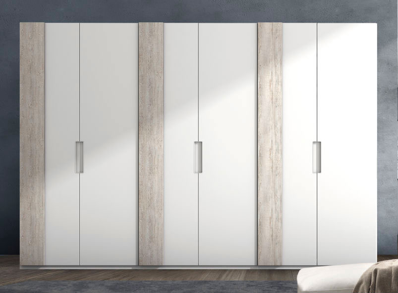 armario ropero dormitorio principal 3 puertas muebles Thermobel Segovia