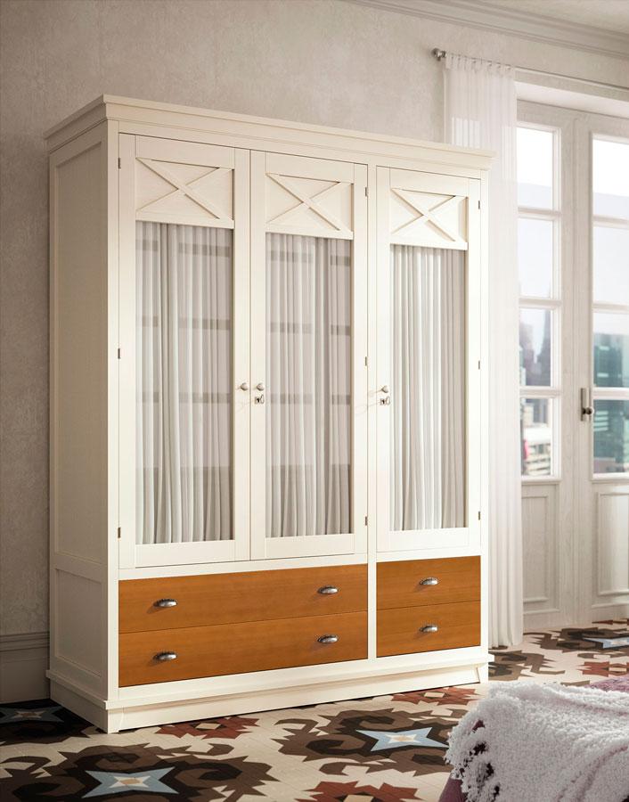 armario clásica dormitorio principal muebles thermobel Segovia