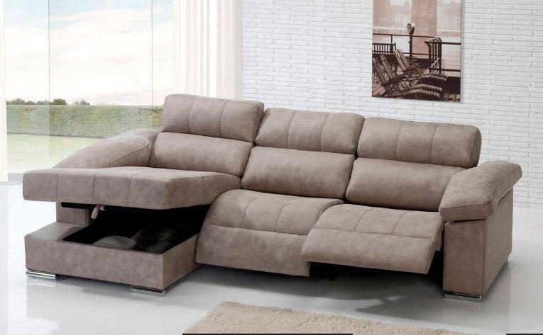 sofá chaise longue muebles Thermobel Segovia