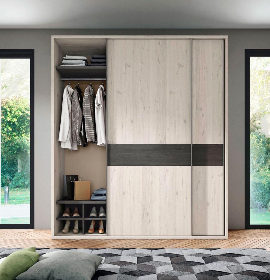 armario ropero dormitorio principal puerta correder muebles Thermobel Segovia