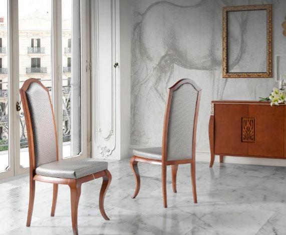 sillas clásicas tapicería muebles Thermobel Segovia