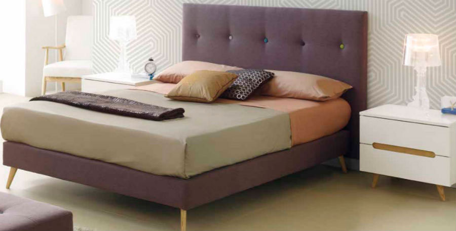 dormitorio principal cama matrimonio mesilla noche muebles Thermobel Segovia