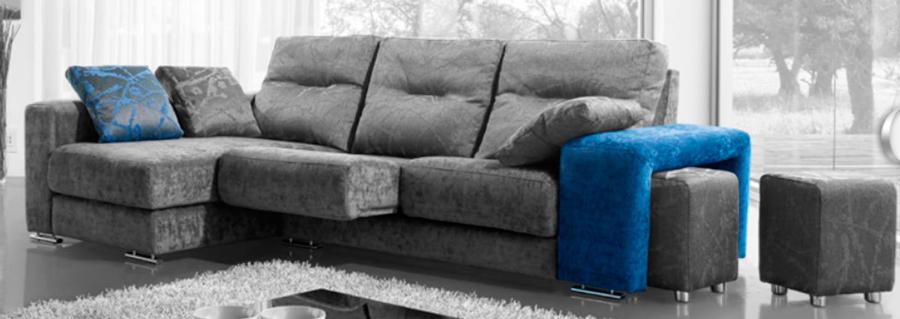 sofá chaise longue puffs muebles Thermobel Segovia