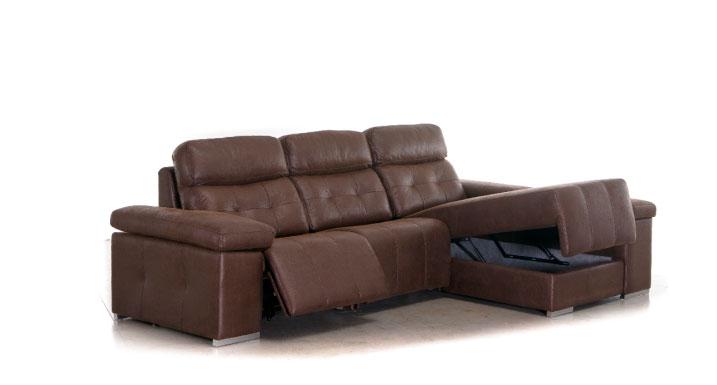 sofá chaise longue almacenaje muebles Thermobel Segovia