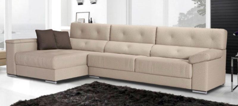 sofá chaise longue cojines muebles Thermobel Segovia