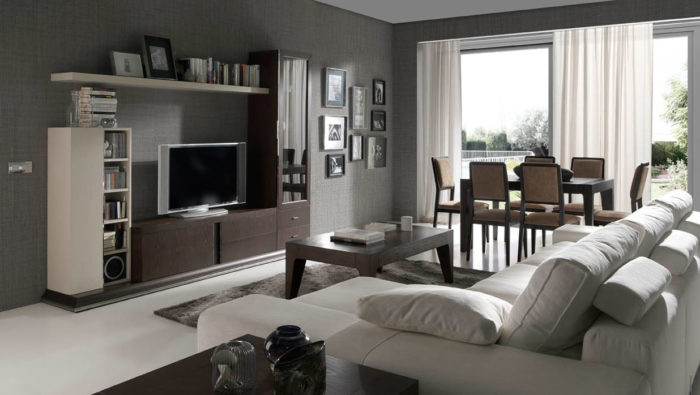 muebles salón tv televisión mesa centro comedor sillas