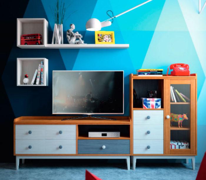 mueble tv estantería juvenil thermobel Segovia