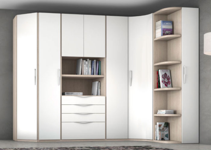 armario dormitorio principal cajones estantería muebles Thermobel Segovia
