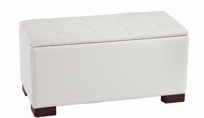 piecero arcón blanco tapicería muebles Thermobel Segovia