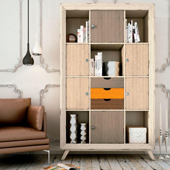 mueble auxiliar estantería Thermobel Segovia