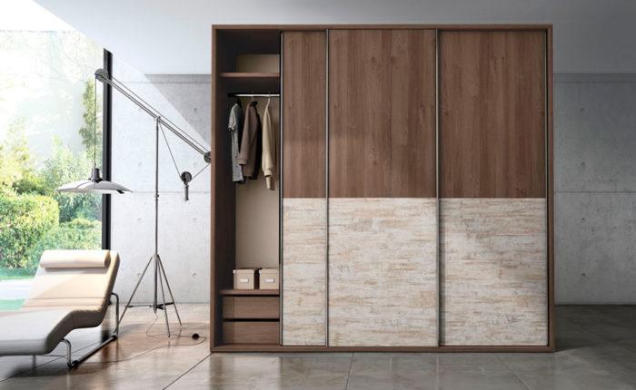 armario ropero 3 puertas correderas muebles Thermobel Segovia