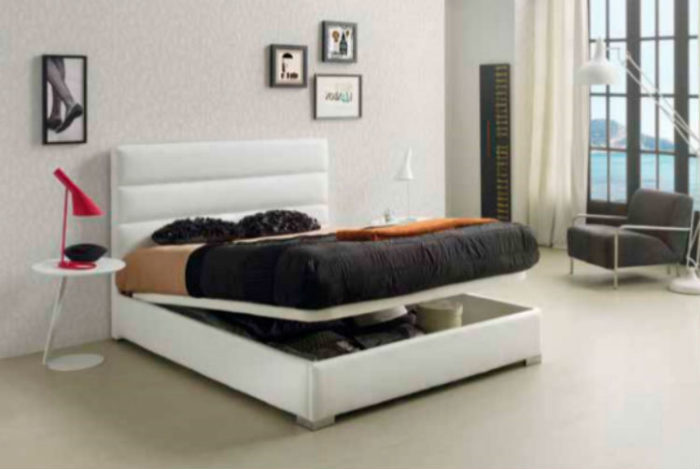 dormitorio principal cama matrimonio canapé mesilla noche auxiliar butaca muebles Thermobel Segovia