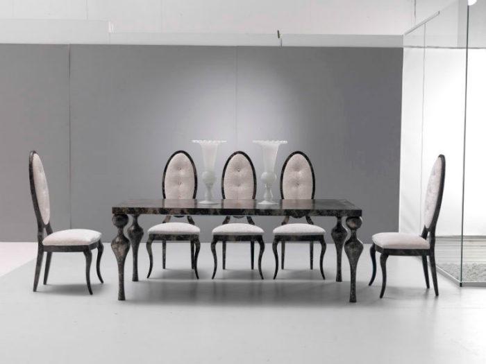 mesa comedor sillas muebles Thermobel Segovia.