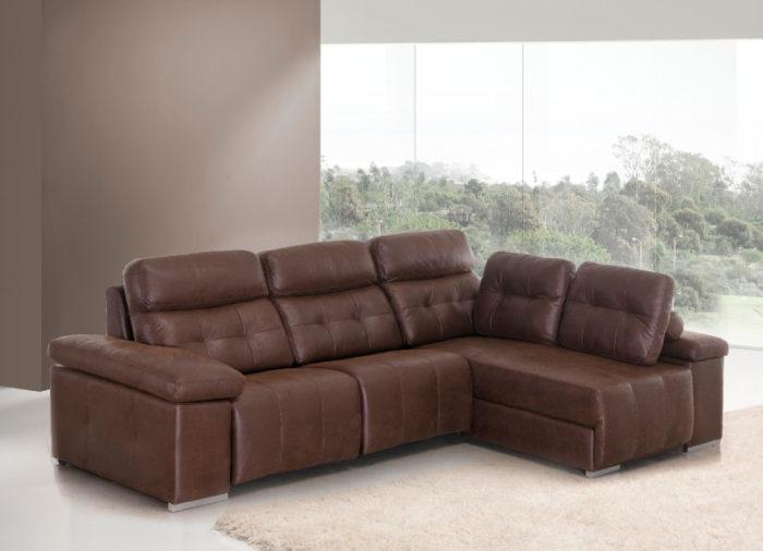sofá chaise longue cojines almacenaje muebles Thermobel Segovia