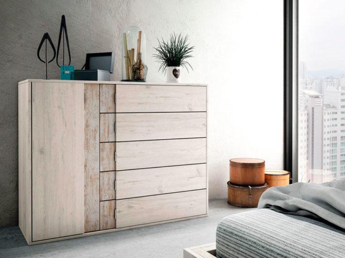 dormitorio principal cómoda muebles Thermobel Segovia