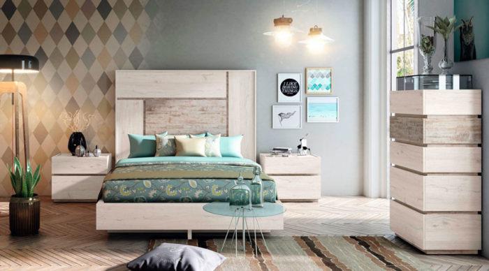dormitorio principal muebles Thermobel Segovia